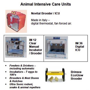 WA Poultry equipment intensive care unites